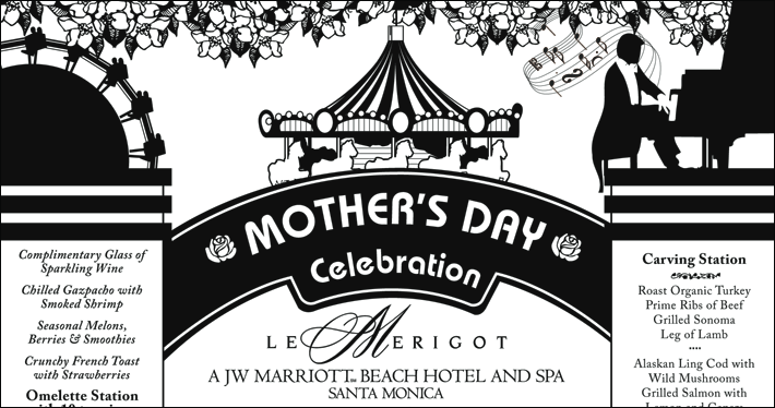 Le Merigot's Mother's Day Ad