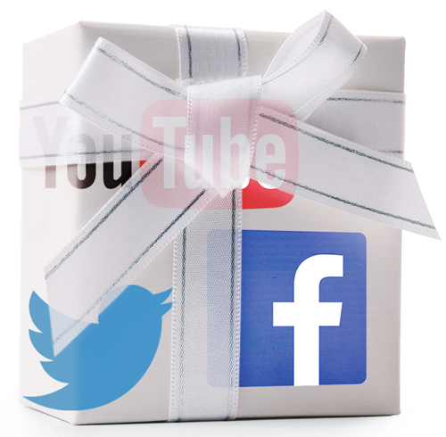 social media packaging