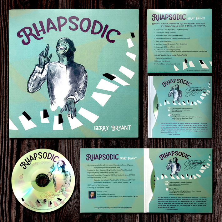 Rhapsodic CD Design
