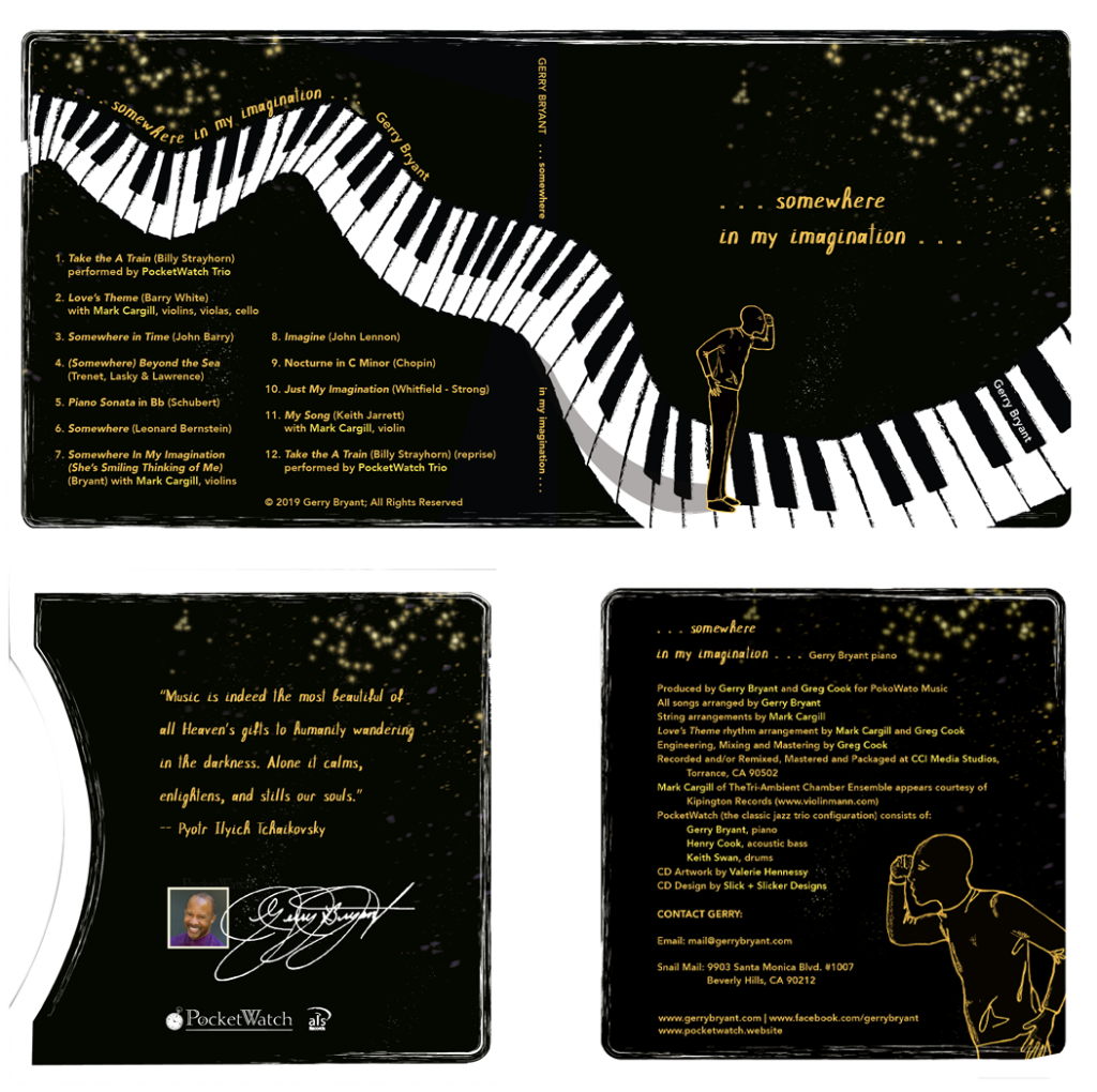Somewhere in My Imagination CD layout