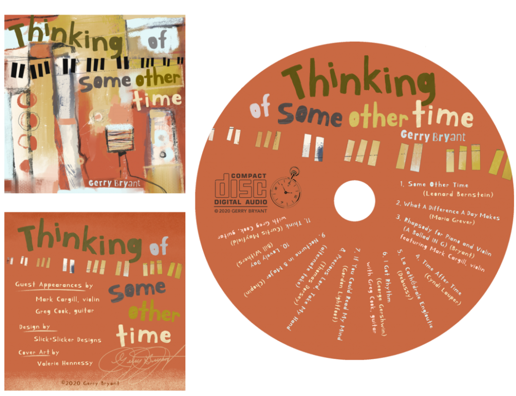 Thinking of Some Other Time CD Design