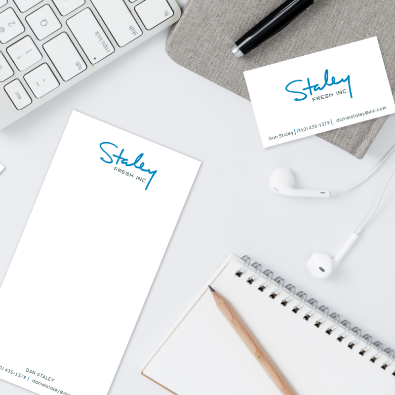 Staley Fresh Inc. Logo and Branding