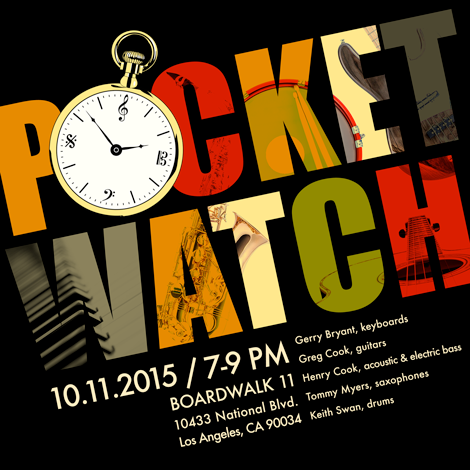 Pocket Watch Event Ad